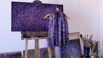Aithne - Ararat Petrossian's Art on Silk Scarfs