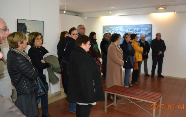 Ararat Petrossian personal exhibition in Terrus impressionist museum of Elne 2