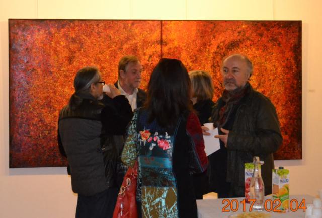 Ararat Petrossian personal exhibition in Terrus impressionist museum of Elne 6