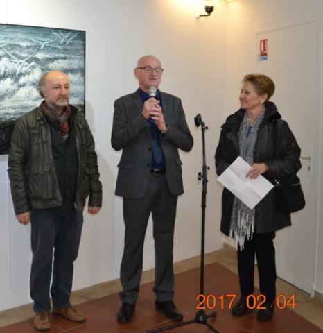 Ararat Petrossian personal exhibition in Terrus impressionist museum of Elne