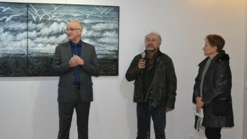 Ararat Petrossian's Exhibition in Musee Terrus Elne in Local Press