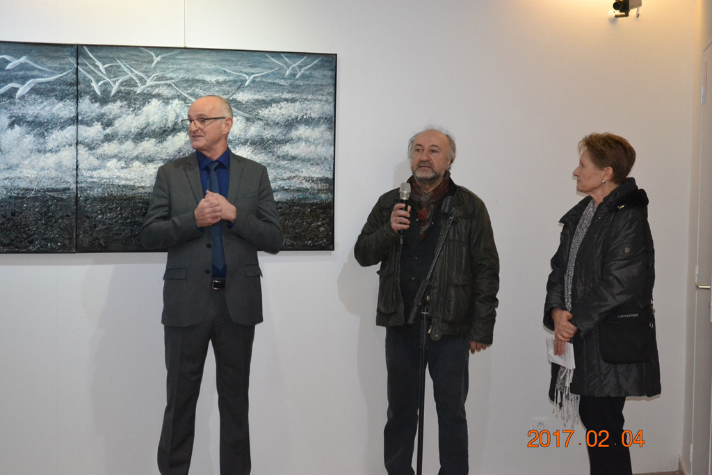 Opening of Ararat Petrossian's Exhibition Vibration of Universe in Museum of impressionism in Elne -France